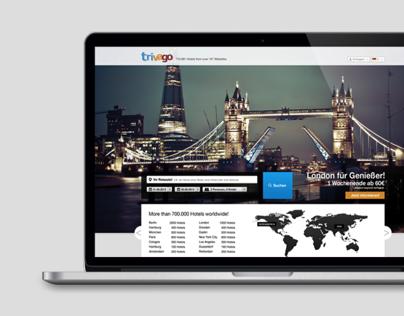 trivago redesign (2013)