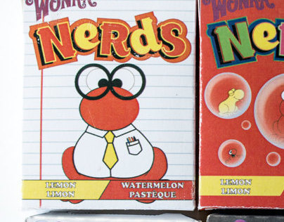 Nerd Packaging Redesign