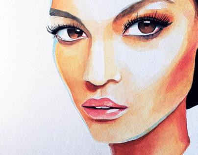 Backstage Makeup / Fashion Portraits
