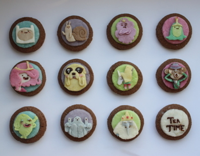 Cookies Adventure Time