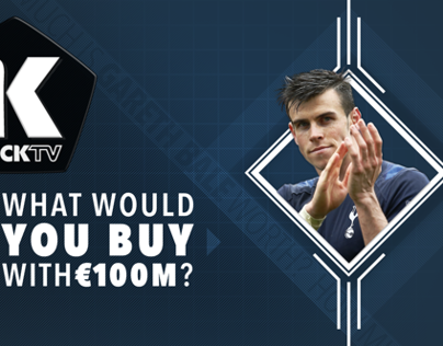 "KICKTV ""What Would You Buy with 100M Euros?"""