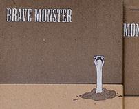 Brave Monster CD Packaging