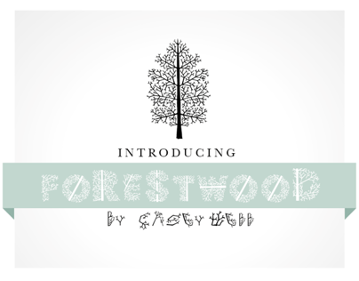 Forestwood: Typeface