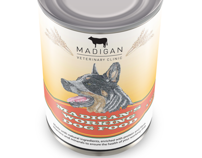 Madigans animal feed packaging