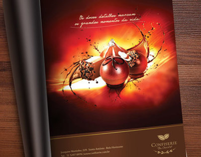 Anúncio Confiserie du Chocolat