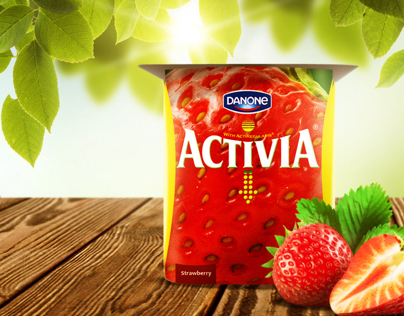 Activia Packaging