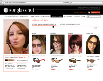 Sunglass Hut Interactive
