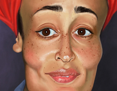 Zadie Smith Caricature