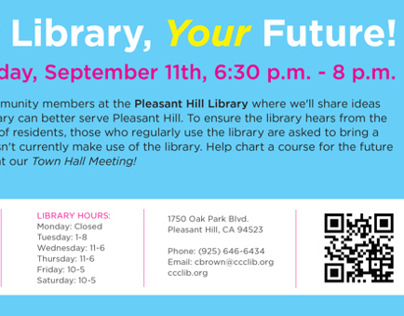 Various Flyers | Contra Costa County Libraries