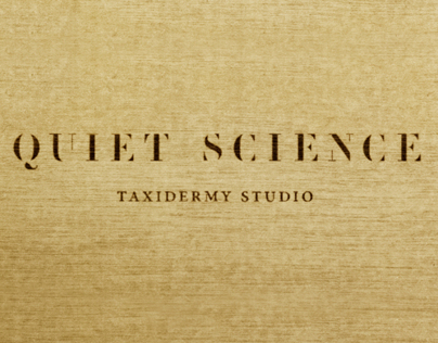 Quiet Science Taxidermy