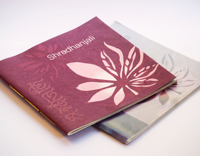 Product Catalogue: Shradhanjali (2012)