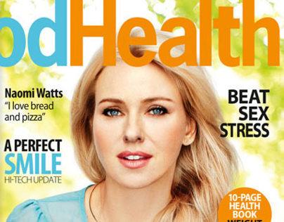 6 Most Amazing & Beautiful Health Magazine Covers