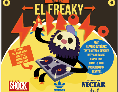 El Freaky sabroso Artwork