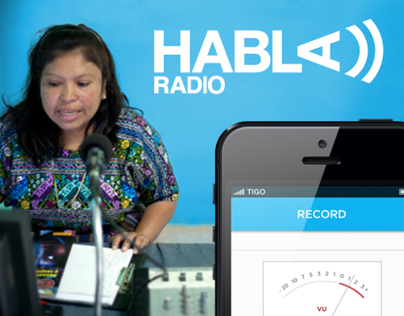 HablaRadio iPhone App Design