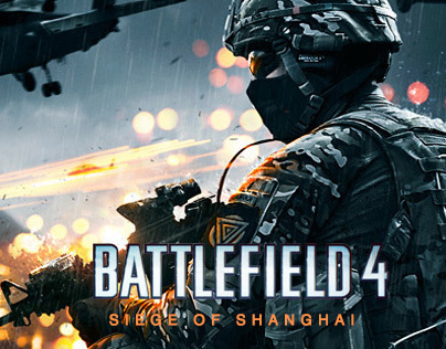 Siege of Shanghai - Battlefield 4 fan art.