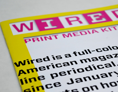 Wired Print Media Kit
