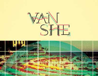 Van She poster for Launch Music Festival Poster Series