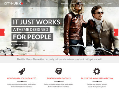 CityHub WordPress Theme