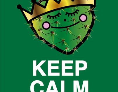 I love Nopal and Keep Calm & Pela Nopales illustration
