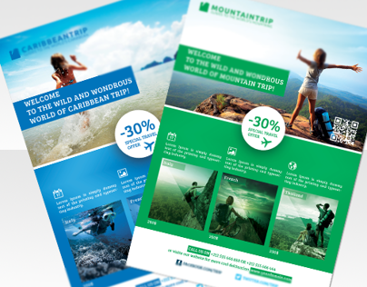 Travel Agents Corporate / Commerce Flyer