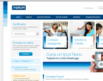 Forum look and feel