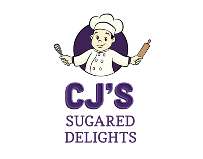 CJ's Sugar Delights Logo
