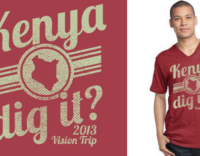 Kenya Dig It? Mission Trip T-shirt