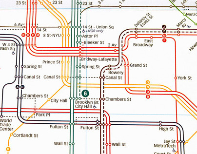 New York City's New Subway Map