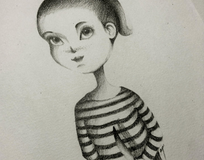 July Meets August: Graphite Drawings