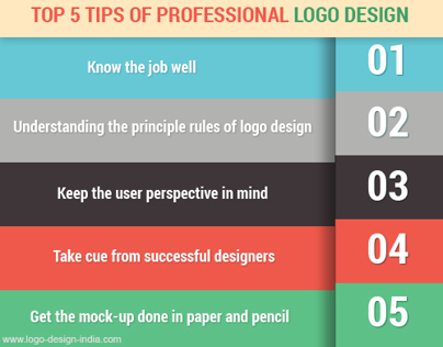 Top 5 Tips of Professional Logo Design