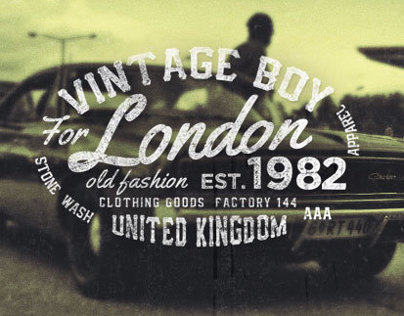 Vintage Labels Vol.3