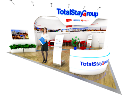 TotalStay Group Exhibition Stand
