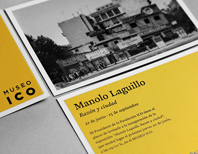 Manolo Laguillo Exhibit Invitation