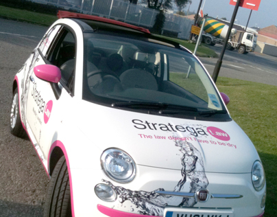 Stratega Law - Vehicle Wrap