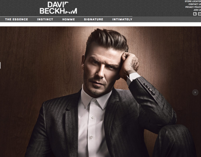 David Beckham Classic Fragrance