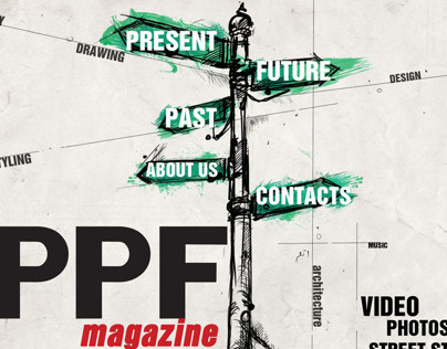 Illustrations for PPF internet magazine