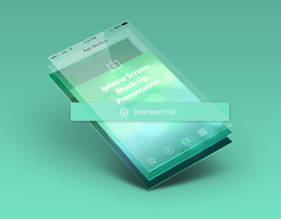 Basic Mobile app screen mockup