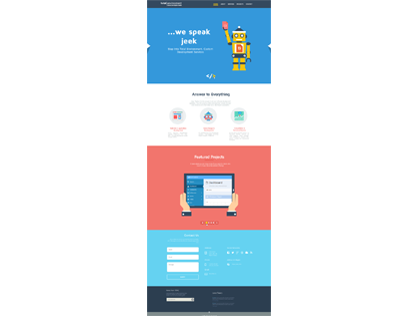 2013 Updated Flat Web Design