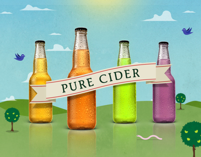 Pure Cider - Website / Infographic