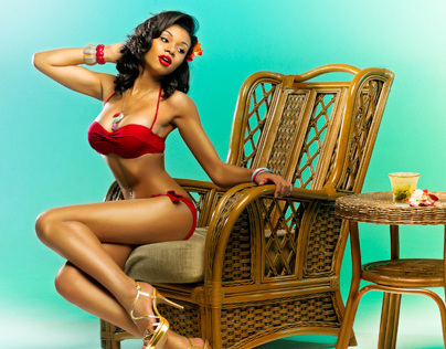 10 classic cocktails in pin-up style