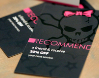 Salon Referral Cards