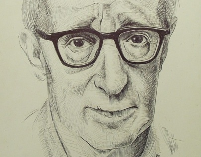 Woody Allen - portrait