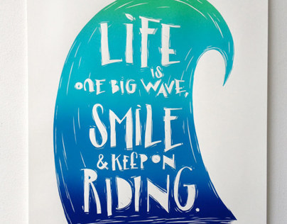 Life is one big wave