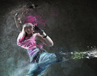 Hip Hop Dancer - Photo Manipulation