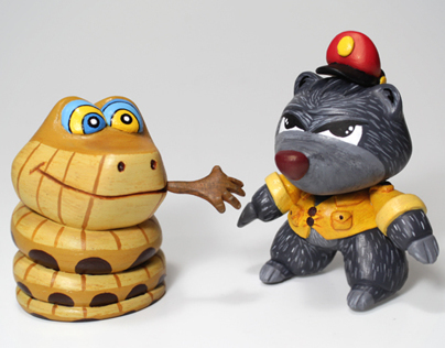 Air Pirates Custom Series - KAA & BALOO