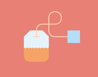 Tea Time • Icon Design