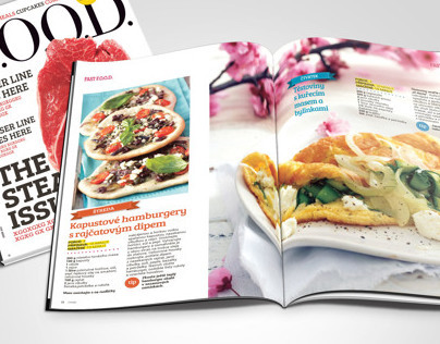 Concept for FOOD magazine