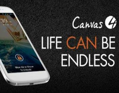 Micromax Canvas 4 Commercial