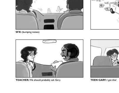 1-800-ASK-GARY Storyboards