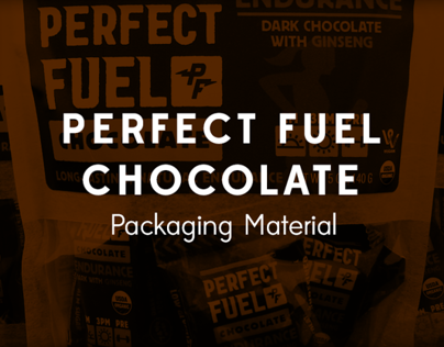 Perfect Fuel Chocolate - Packaging Material